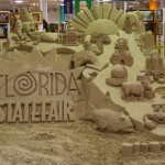 Sand Sculpture at the Florida State Fair 2011